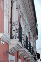 los balcones...