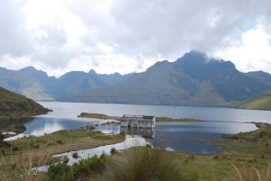 Laguna de Mojanda (en espagnol cette fois)