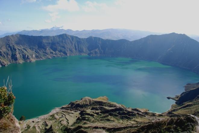 Le cratère du Quilotoa