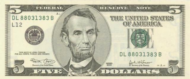 dollar-5-lincoln