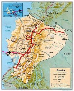 Et voila, fin de l'Equateur, en route vers le Pérou !!