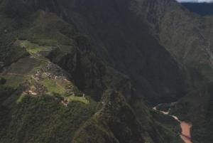 La vue depuis le Wayna