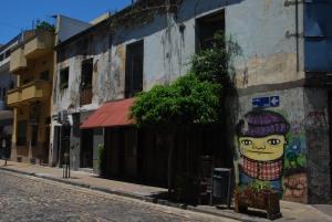 Dans le quartier de San Telmo