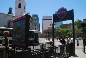 Premier tour en métro en Amérique du Sud