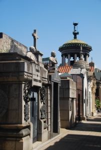 Le cimetière de Recoleta ou... le Père Lachaise