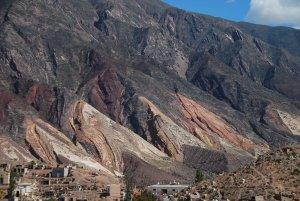 La palette du peintre dans la vallée de Humahuaca