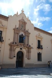 L'entrée d'une des universités de Cordoba
