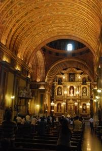 Pendant la messe, à Cordoba
