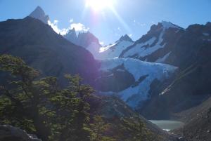 Glacier de Piedras Blancas