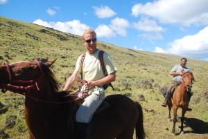 Stupéfiant ! Vincent proche d'un cheval sous une forme autre que celle d'un steak !