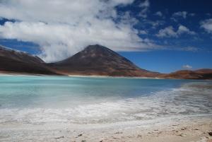 La Laguna Verde, qui porte plus que bien son nom