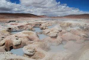 Les marmites de boue boliviennes