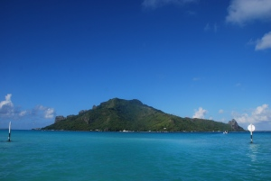 L'île centrale de Maupiti