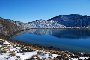 Le lac bleu, apparemment bien nomme...