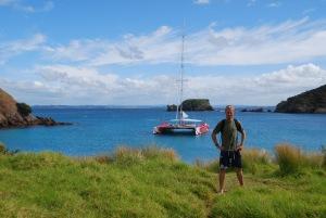 Debarquement sur une ile deserte