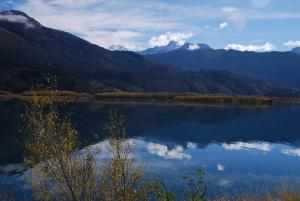 Premier apercu sur le lac de Wanaka