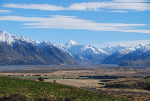 Vallée imense, paysage saisissant...