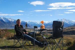 bon sang, on croyait bien qu'on n'arriverait plus à les sortir ces chaises de camping !