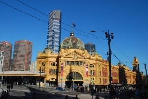 La gare de Melbourne a plutot la classe