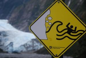 Même les panneaux de signalisation font peur...