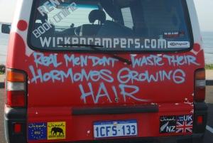 Message de Vincent a sa mere : voila pourquoi en temps normal je ne me laisse jamais pousser les cheveux !
