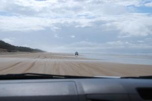 La plage de l'est