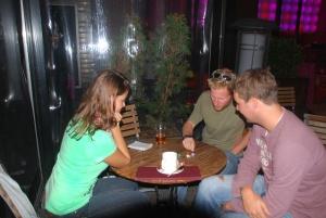 Avec Céline et Niels à Christchurch