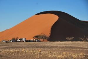 La dune 45, la plus visitee et pas la plus vilaine, il faut le dire...