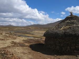 Les hauteurs du Lesotho, avec un petit air de Tibet