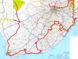 Le trajet final en Afrique du Sud