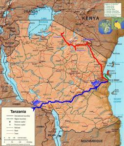Le trajet final en Tanzanie